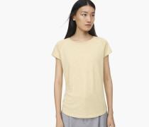 T-Shirt aus Melange Jersey Dune