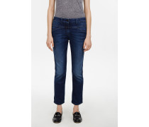 Pedal Position Indigo Blue Stretch Denim
