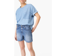 Shorts aus Authentic Blue Stretch Denim