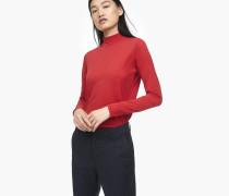 Langarmshirt mit Kaschmir-Anteil vegas red