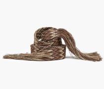 Textilgürtel highland clover