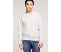 Sweatshirt in Melange-Optik vanilla