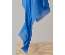 Unifarbener Schal bluebird