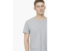 Basic T-Shirt grey heather melange