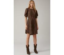 Kleid aus Vikose & Seide