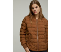 Quilted Jacket antique wood