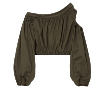 Stein Off-the-shoulder Cotton-blend Top