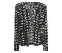 Tetys Metallic Bouclé-tweed Jacket