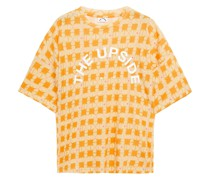 Shibori Carla T-shirt aus Jersey aus Einer Baumwoll-leinenmischung mit Print