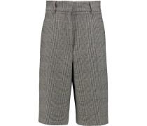 Wool-blend Shorts Schwarz