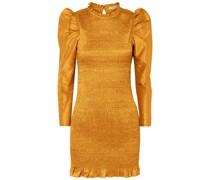 Aurele Minikleid aus Taft mit Raffung