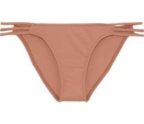 Bali Metallic Striped Bikini Briefs
