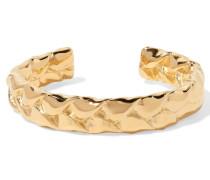 Medium Braid Gold-plated Cuff
