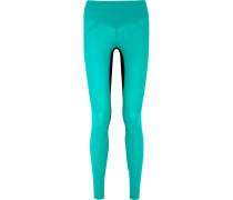 Core Performance Stretch-jersey Leggings Azurblau
