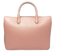 Leather Tote Puder