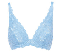Never Say Never Candie Stretch-lace Underwired Plunge Bra