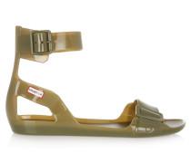 Vinyl Sandals Armeegrün