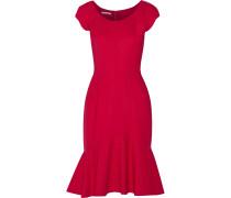 Wool-blend Dress Signalrot