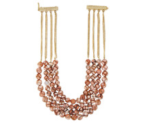 Cipria Gold-tone Stone Necklace