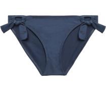 Cutout Knotted Low-rise Bikini Briefs