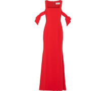 Cutout Stretch-cady Gown Rot