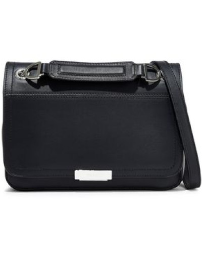 Deliziosa Small Leather Shoulder Bag Black Size --
