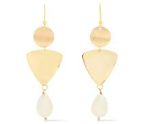 -tone Faux Pearl Earrings
