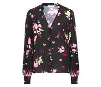Bluse aus Seide mit Floralem Print
