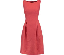 Betsy wool-blend matelassé  mini dress