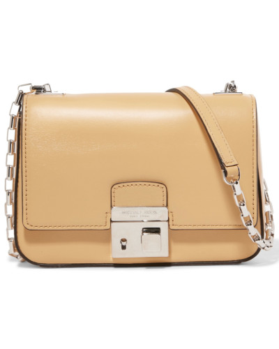 Leather Shoulder Bag Gelb