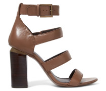 Jones Leather Sandals Braun