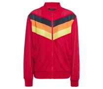 Color-block Mesh Track Jacket