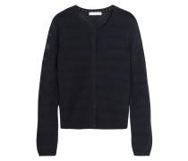 Open-knit Cardigan Mitternachtsblau