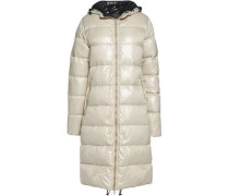 Alia quilted shell coat