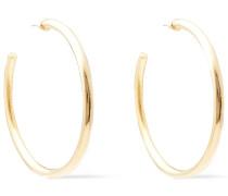 -tone Hoop Earrings
