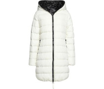 Ace quilted shell hooded jacket