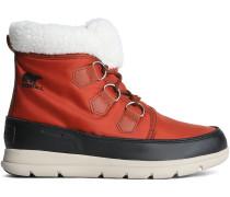 Carinival Fleece-trimmed Waterproof Shell Snow Boots
