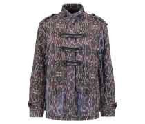 Hazel Printed Cotton-shell Jacket Mehrfarbig