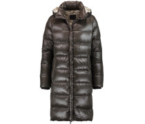 Deneb Quilted Shell Down Coat Schiefer
