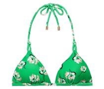 Petals Twine Triangel-bikini-oberteil mit Floralem Print