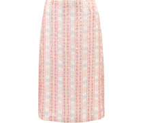 Collection Sequined Silk-georgette Midi Skirt Pink