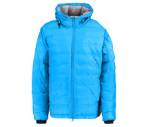 Camp Hooded Quilted Shell Jacket Hellblau