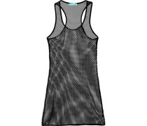 Liz Stretch-mesh Dress Schwarz