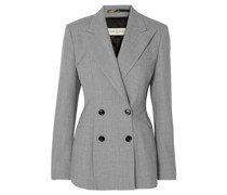 Bloom Double-breasted Woven Blazer