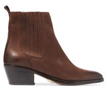 Patrice Suede Ankle Boots Schokoladenbraun