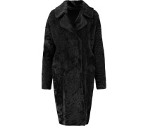 Reversible Shearling Coat Schwarz