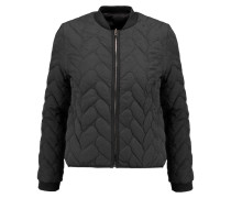 Reversible Quilted Shell Jacket Schwarz