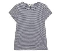 T-shirt aus Pima-baumwoll-jersey mit Streifen