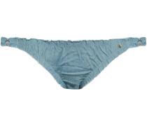 Denim Low-rise Bikini Briefs