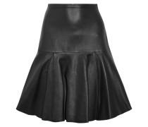 Torre Leather Skirt Schwarz